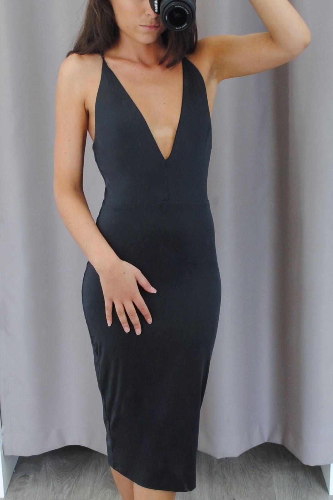 Dress Hire  KOOKAI - Margot Dress in Ink  ccd591fcc